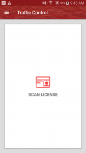 Traffic Control CRM Mobile Drivers License Scanner Scanning Scan App