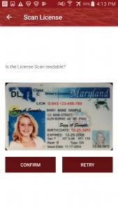 Traffic Control CRM Mobile Drivers License Scanner Scanning Scan App